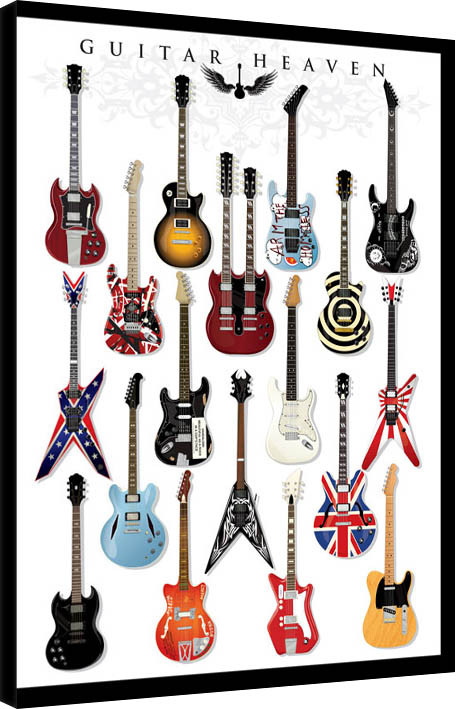 Guitar Heaven Canvas