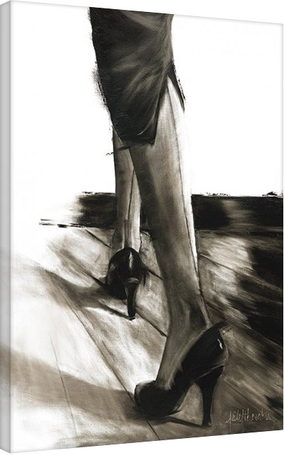 Janel Eleftherakis - Little Black Dress IV Canvas