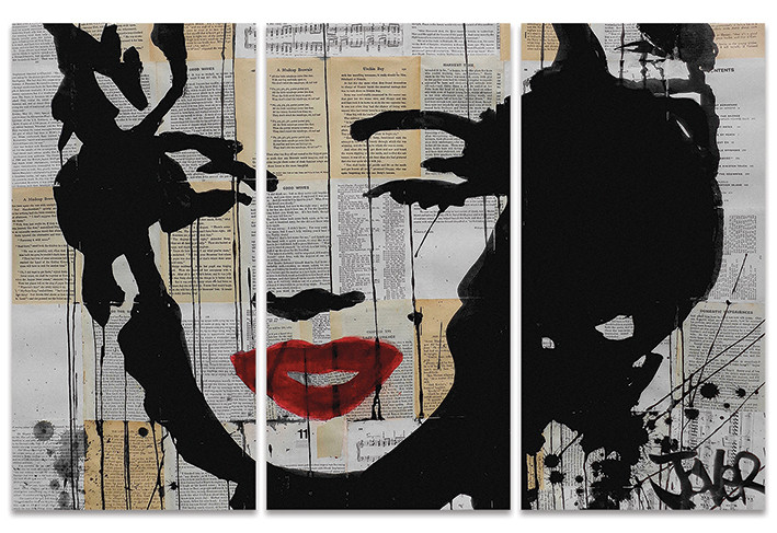 Loui Jover - Marilyn Canvas