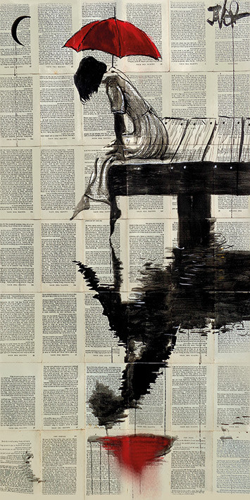 Loui Jover - Serene Days Canvas