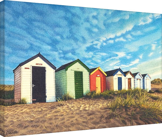 Margaret Heath - Southwold Sunrise canvas
