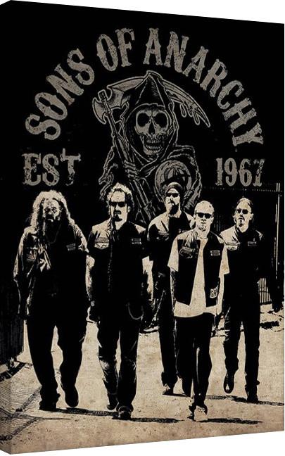 Lieblings Bestel een Sons of Anarchy - Reaper Crew Canvas print op @GK_12