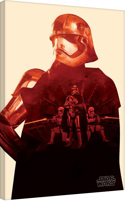 Star Wars Episode VII: The Force Awakens - Flametrooper Paint Canvas