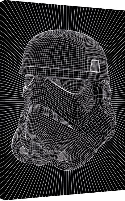 Star Wars - Stormtrooper Wire Canvas