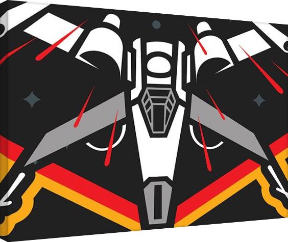 Obraz na plátně Star Wars VII: Síla se probouzí - X-Wing Pencil Art