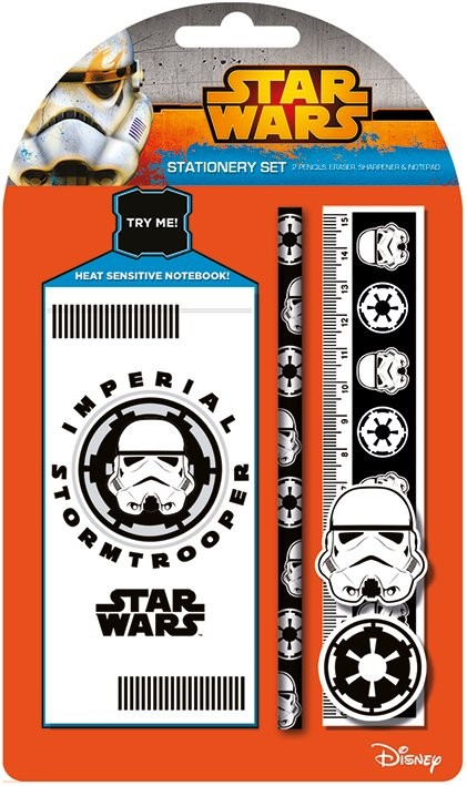 Star Wars - Stormtrooper Stationery Set Carnete și penare