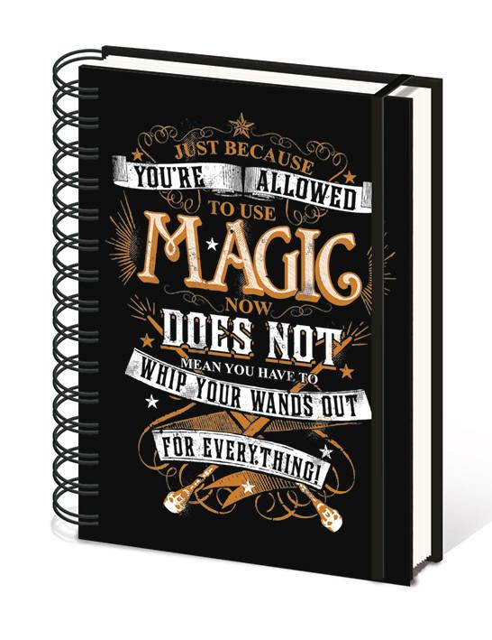 Harry Potter - Magic Carnețele