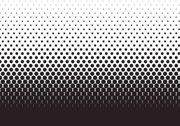 Carta Da Parati Pois Grigio : Carta da parati le corbusier dots rosso ocra grigio marrone