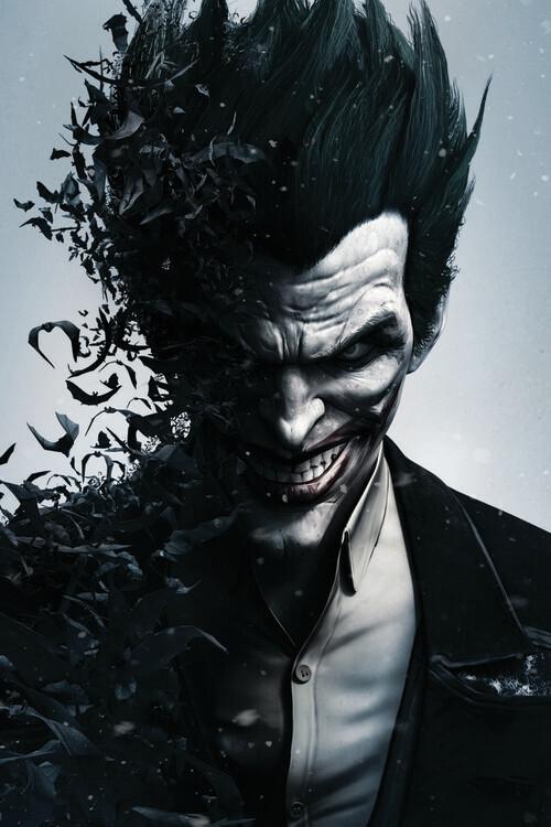 Carta da parati Batman Arkham - Joker