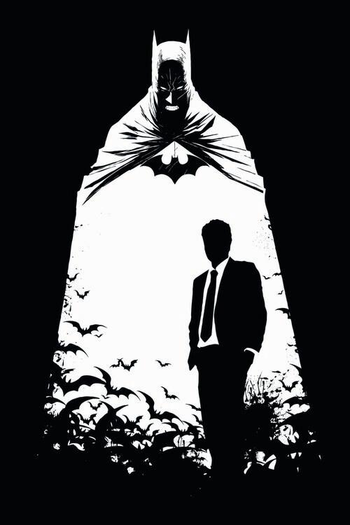 Carta da parati Batman - Secret Identity