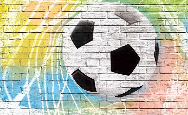 Carta da parati calcio muro di mattoni for Carta da parati muro di mattoni