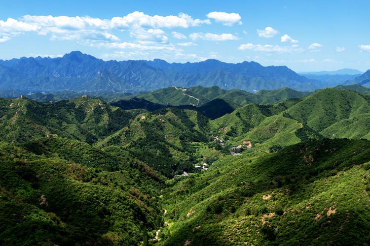 Carta da parati China 10MKm2 Collection - Great Wall of China