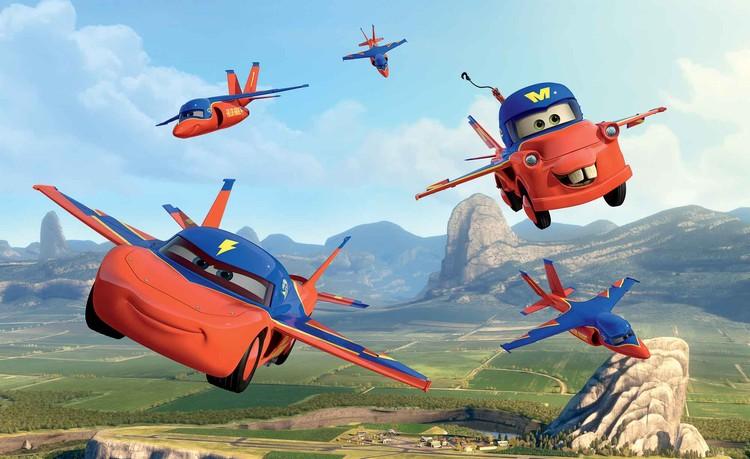 Carta da parati  Disney Cars - Motori Ruggenti Planes - Cricchetto Pilota Col Brevetto