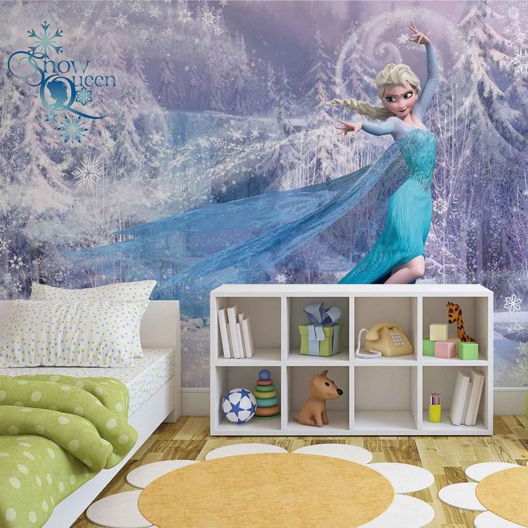 Carta da parati  Disney Frozen - Il Regno di Ghiaccio Elsa