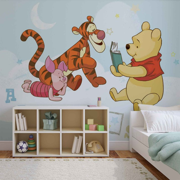 Carta da parati  Disney Winnie Pooh Pimpi Tigro