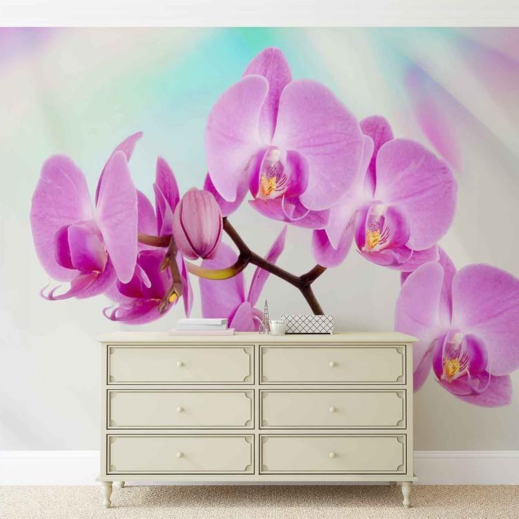 Carta da parati fiori orchidee for Carta parati fiori