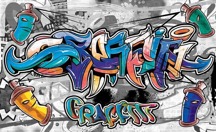 Carta da parati  Graffiti Street Art
