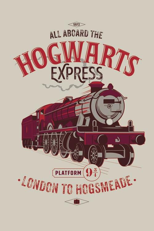 Carta da parati Harry Potter - Espresso per Hogwarts