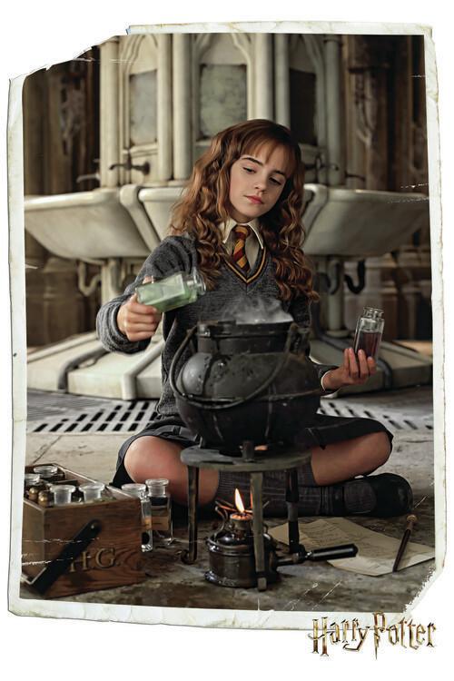 Carta da parati Harry Potter - Hermione Granger
