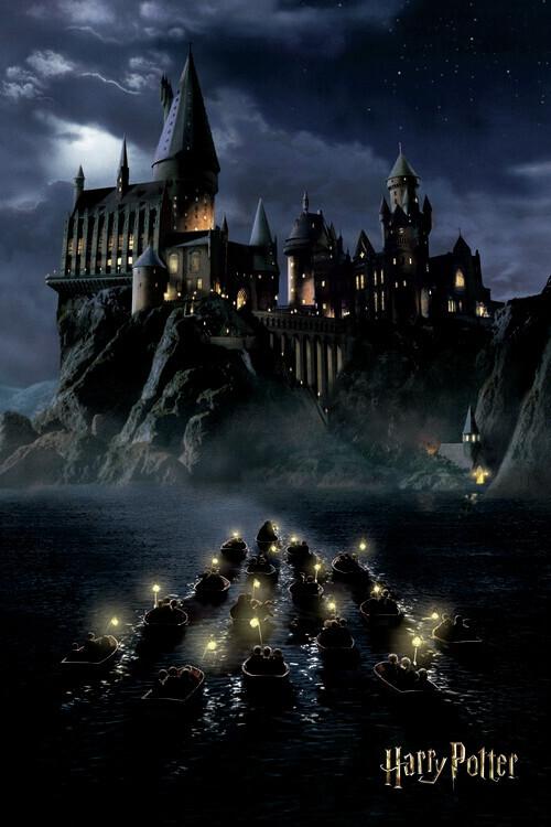 Carta da parati Harry Potter - Hogwarts