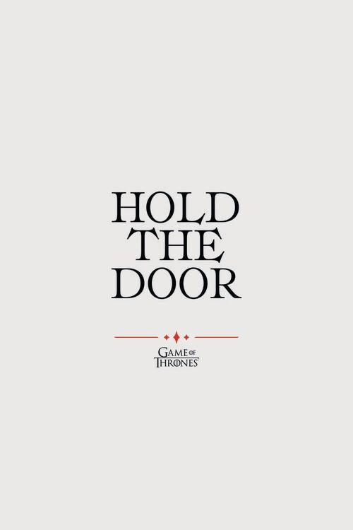 Carta da parati Il trono di spade - Hodor
