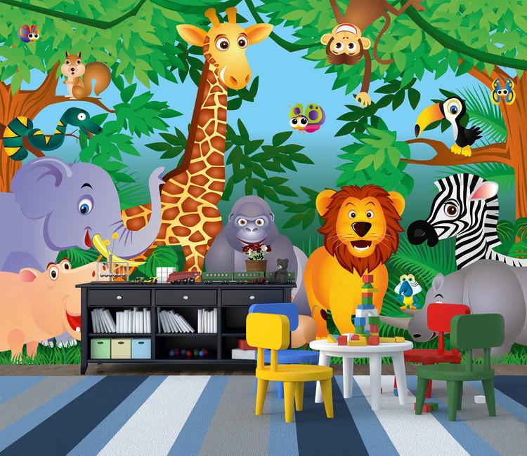 Carta da parati In The Jungle