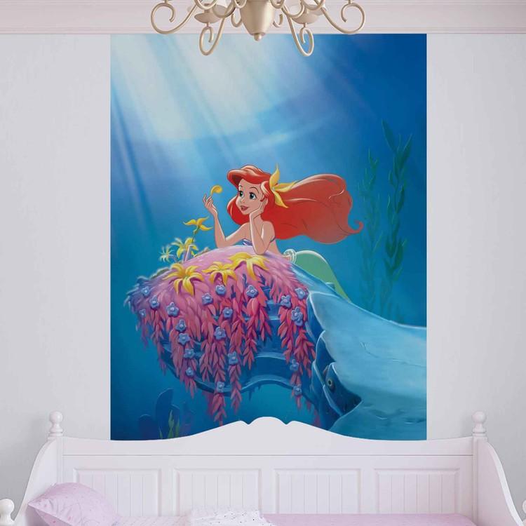 Carta da parati  La Sirenetta Ariel Disney