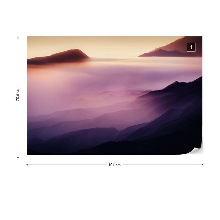 Carta da parati Land Of Fog