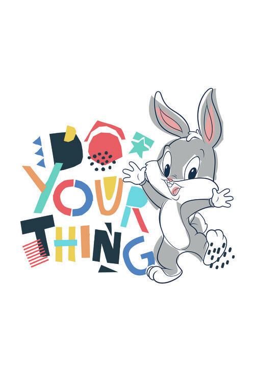 Carta da parati Looney Tunes - Little bunny