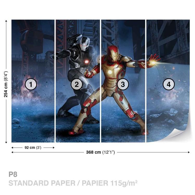 Carta da parati  Marvel Avengers - I Vendicatori Iron Man