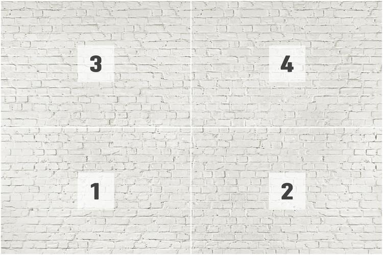 Carta da parati muro di mattoni bianchi for Carta da parati muro di mattoni