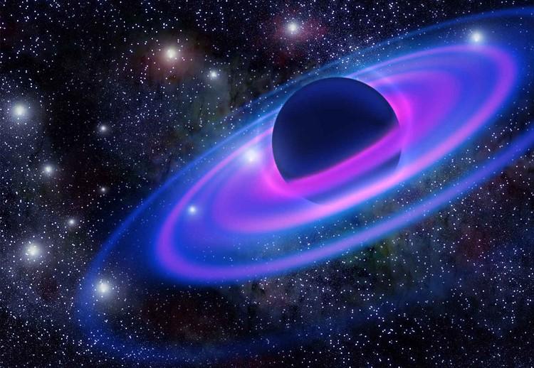 Carta da parati Neon Planet