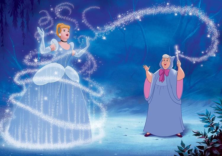 Carta da parati  Principesse Disney Cenerentola