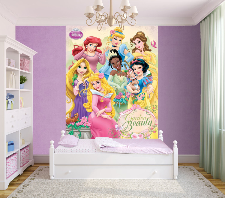Carta da parati Principesse Disney