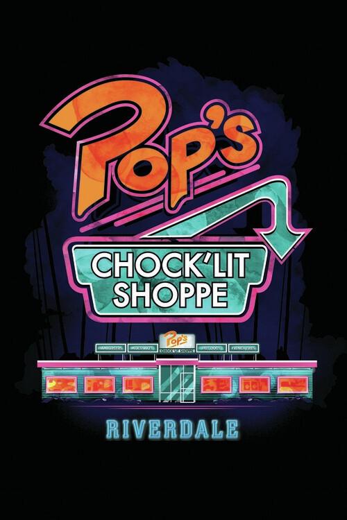 Carta da parati Riverdale - Pop´s shoppe