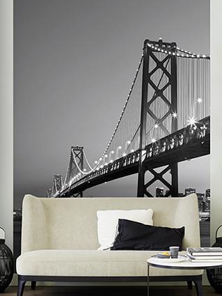 Carta da parati SAN FRANCISCO - skyline