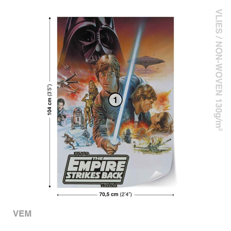 Carta da parati  Star Wars L'Impero Colpisce Ancora