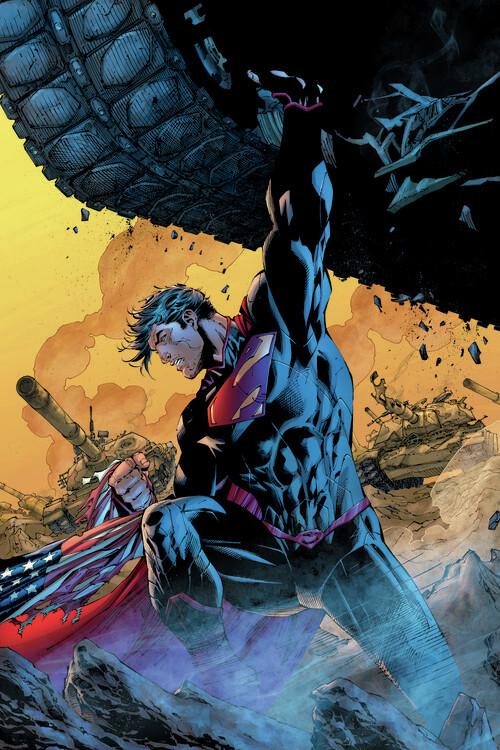 Carta da parati Superman - Huge power
