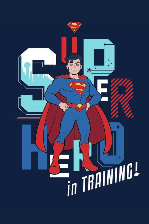 Carta da parati Superman - In training