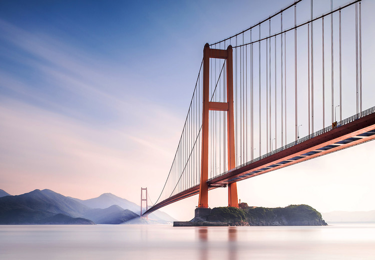 Carta da parati Xihou Bridge