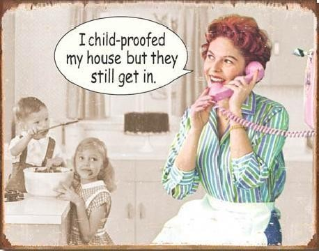 Cartel de metal EPHEMERA - Childproofed House
