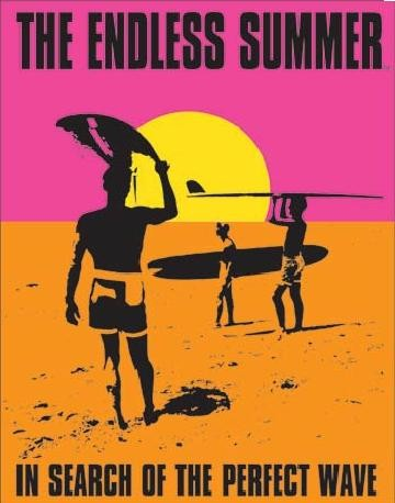 Cartel de metal THE ENDLESS SUMMER - In Search Of The Perfect Wave