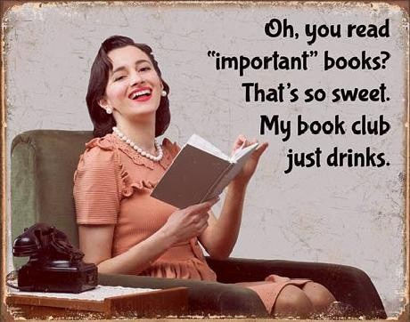 Book Club Carteles de chapa