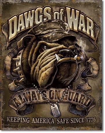 Dawgs of War Carteles de chapa