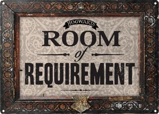 Harry Potter - Room Of Requirement Carteles de chapa