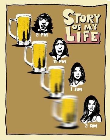 SOML - beer goggles Carteles de chapa