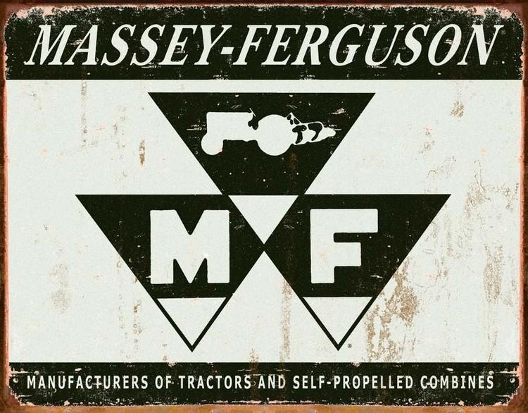Cartelli Pubblicitari in Metallo MASSEY FERGUSON