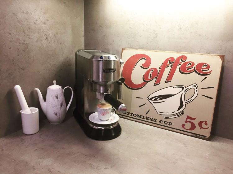 Cartello in metallo SCHOENBERG - coffee scents
