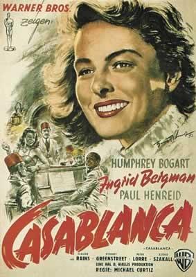 CASABLANCA  - плакат (poster)