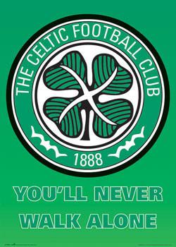 Celtic - club crest - плакат (poster)